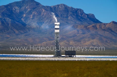 Not from this world. The Ivanpah Solar Park looks spooky and fascinating at the same time...