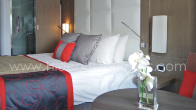 ..or modern boutique hotel style (Ponant). The choice is yours!