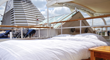 ...or the Balinese DreamBeds onboard SeaDream I & II?