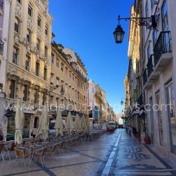 Rua Augusta is a marvelous walkway through the heart of the historic district.