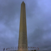 An icon: The Washington Monument