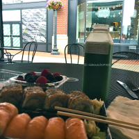 Enjoy a relaxed lunch at Dean & Deluca