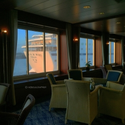 WIFI is available on the Promenade Deck