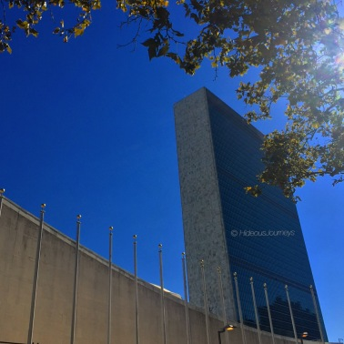 Scene of my iPhone melt-down: The United Nations