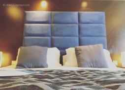 Balcony stateroom 8216 bedding