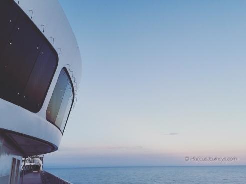 A UFO at sea