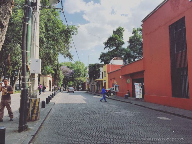 Wandering the backstreets of the Barrio Magico Coyoacán