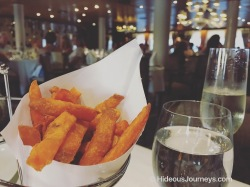 Windstar´s signature Sweet Potateo fries are a must to try!