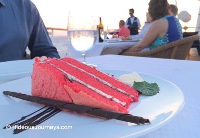 Dessert: Red Velvet cake for Two