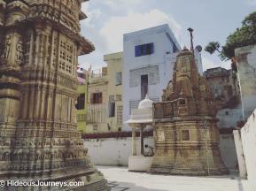 Inside Jagdish Mandir temple