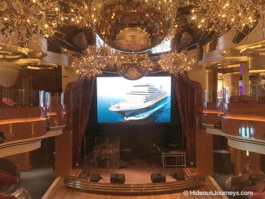 MS Koningsdam - Queen´s Lounge