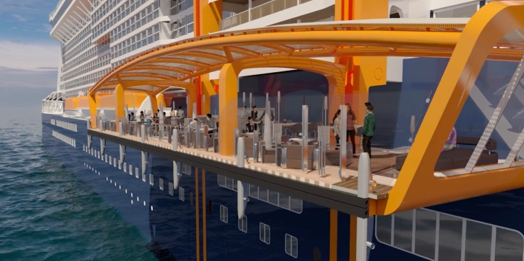 Celebrity EDGE Magic Carpet 3
