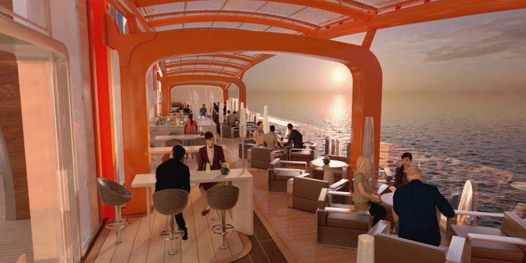 Celebrity EDGE Magic Carpet 4