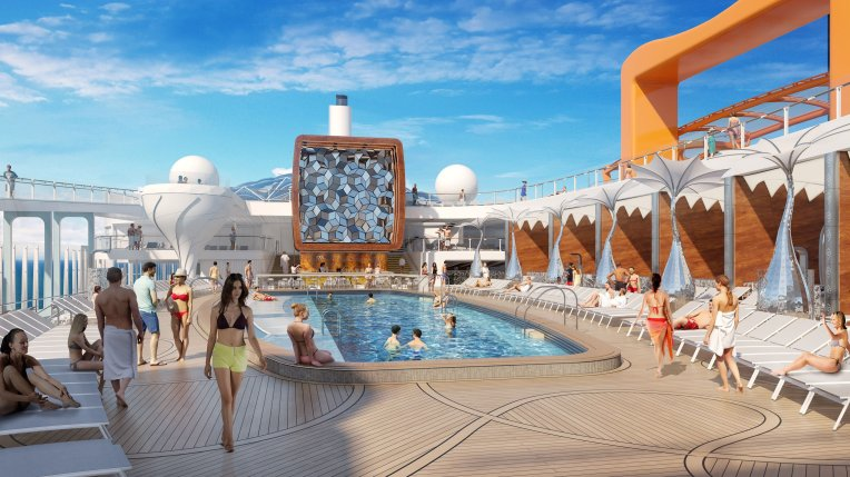 Celebrity EDGE Pool Deck 3