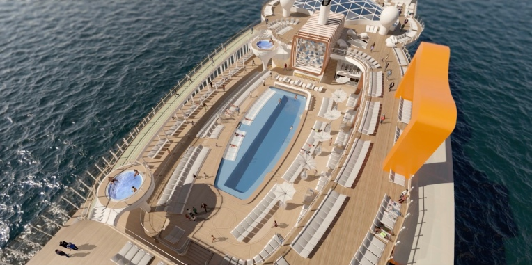 Celebrity EDGE Resort Deck 2