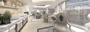 The Retreat Lounge - Copyright Celebrity Cruises
