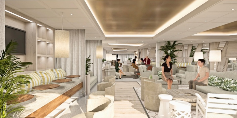Celebrity EDGE Retreat Lounge