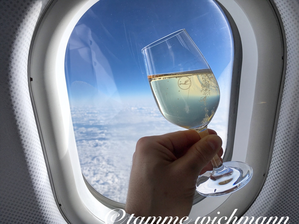 Lufthansa A340-600 Business Class | Seoul – Munich